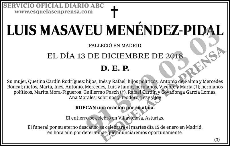Luis Masaveu Menéndez-Pidal